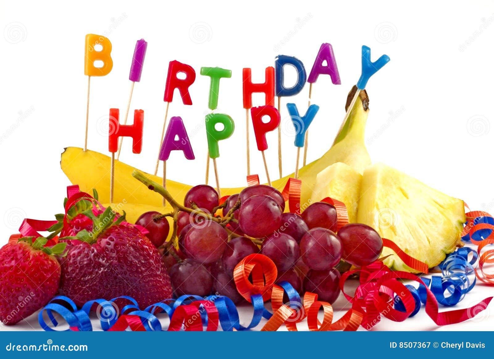 Colorful Fruit Cake