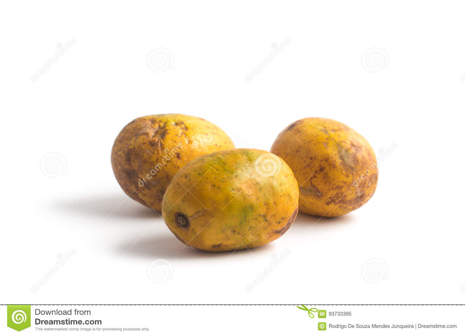 Frutta di Caja-manga Spondias dulcis