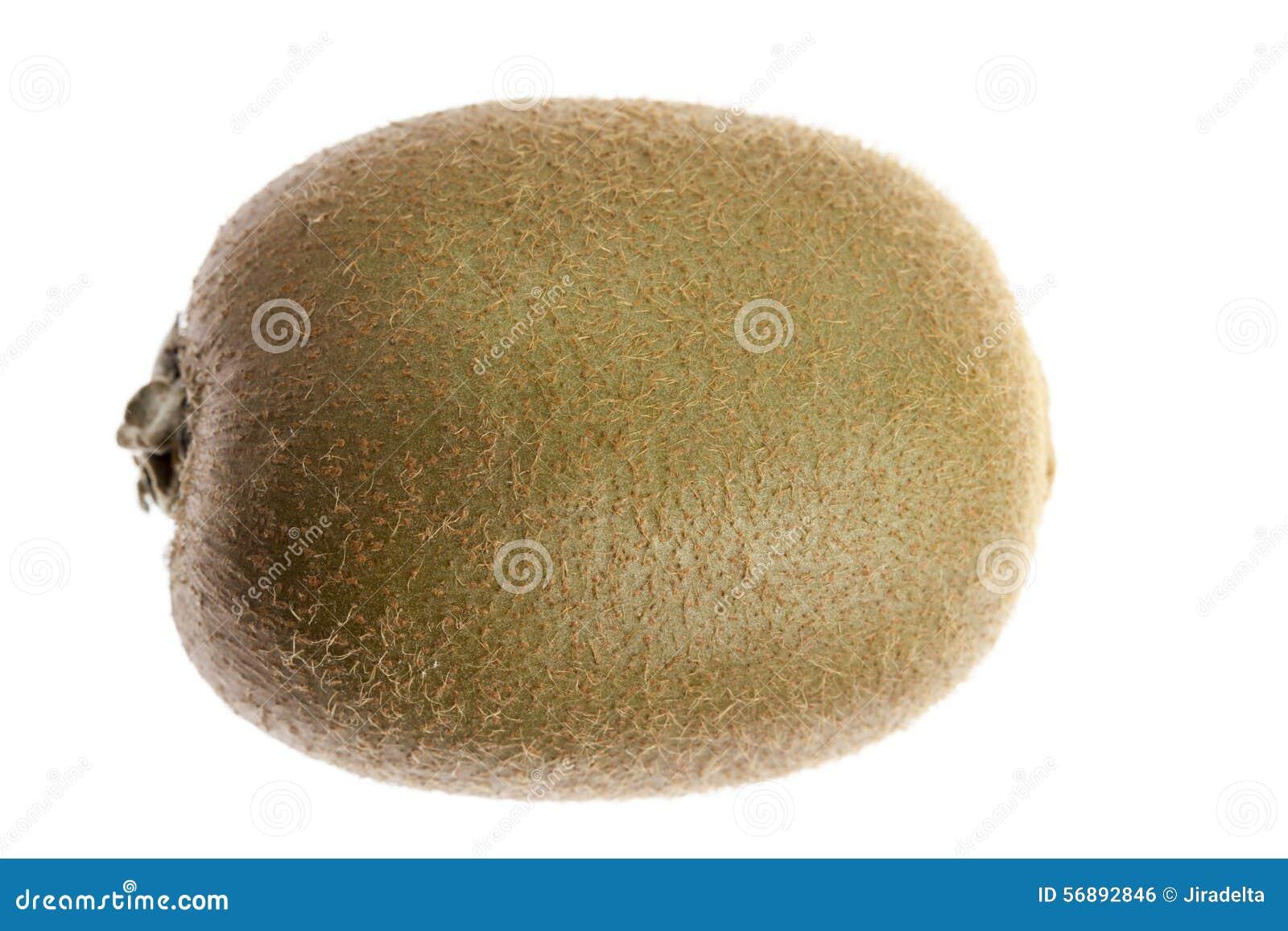 Frutta di Kiwi su priorità bassa bianca
