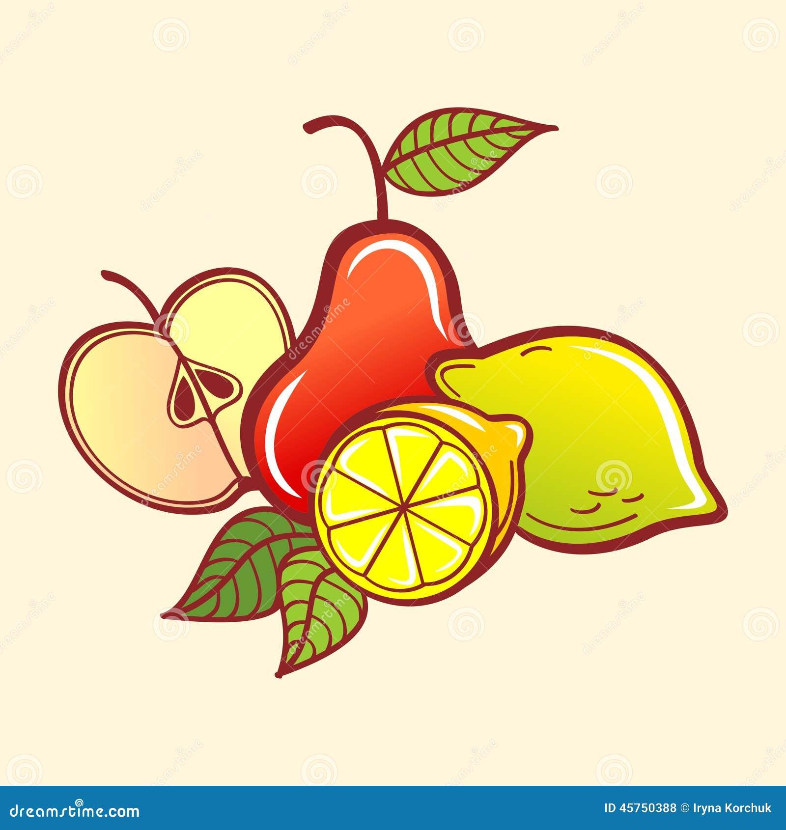 Frutta di vettore