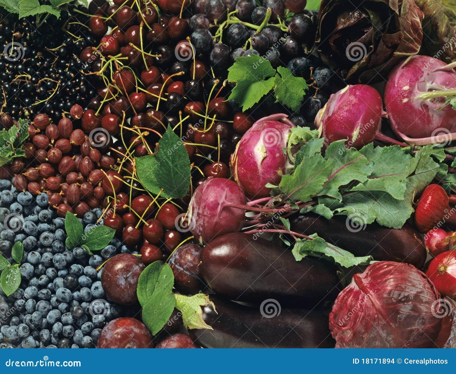 Frutta e verdure blu fotografia stock immagine di - Immagine di frutta e verdura ...