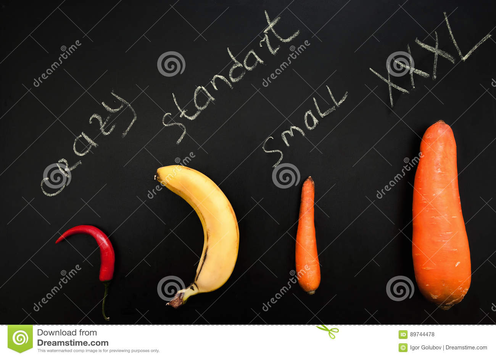 verdure simili a pene