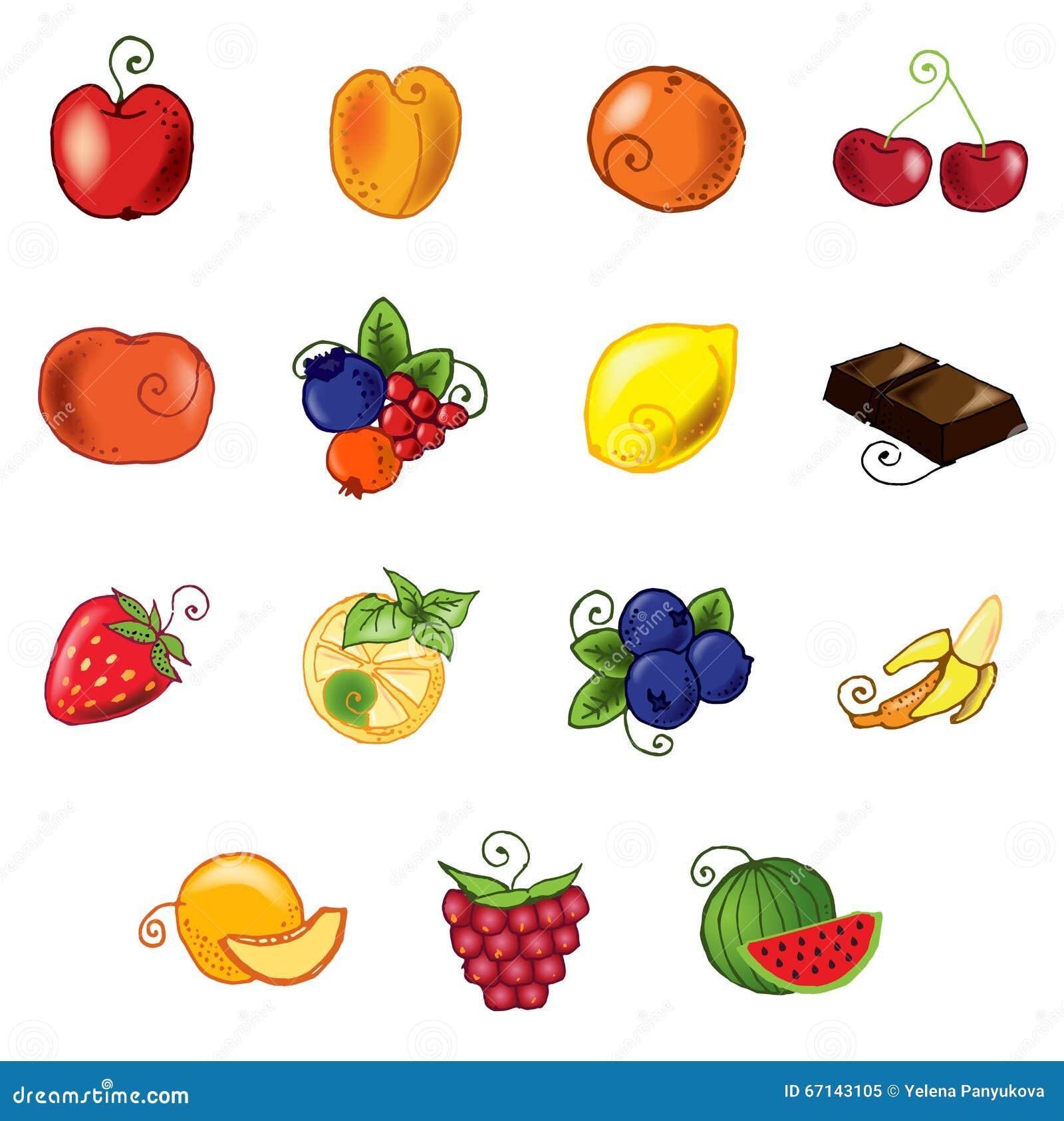 Frutta impostata