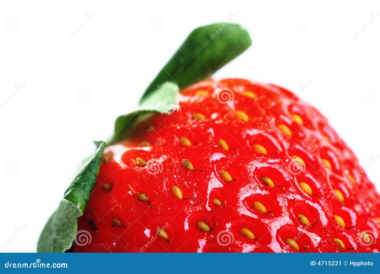 Frutta isolata - fragola
