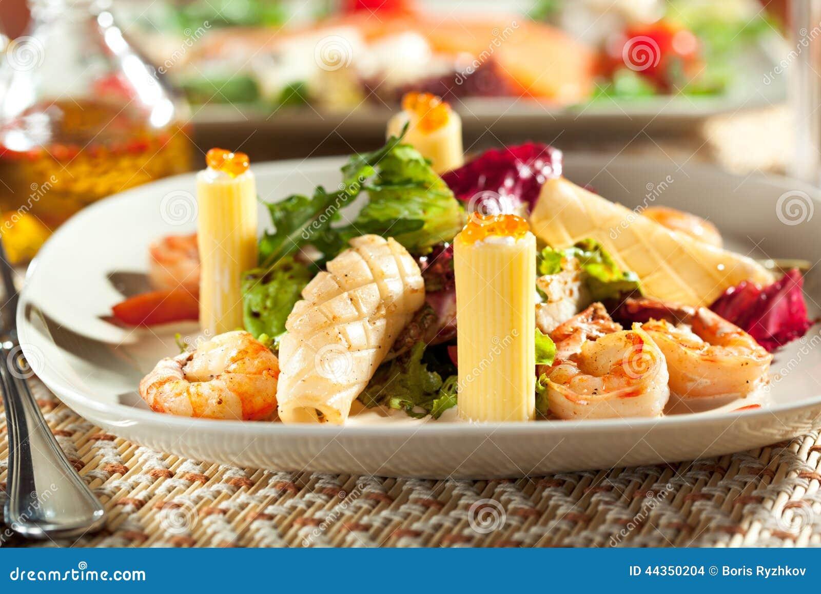 Frutti di mare con pasta