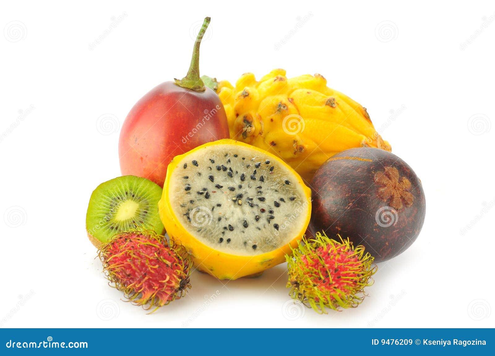 frutti tropicali immagine stock immagine di isolato