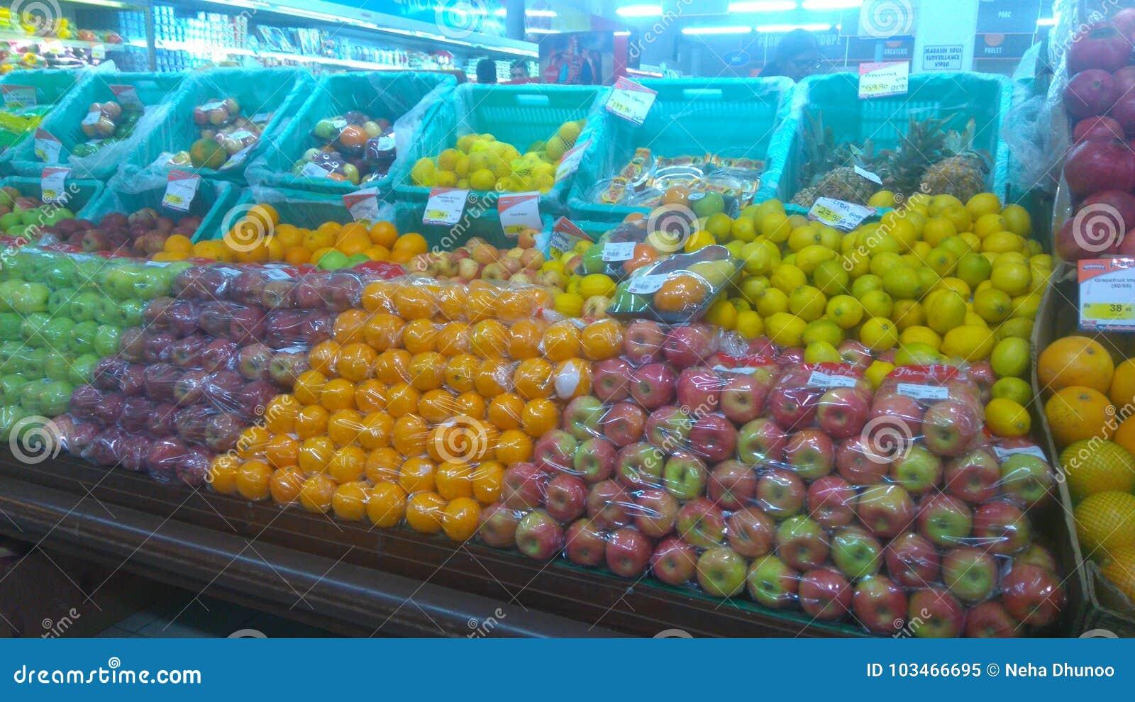 Frutti tropicali dalle Mauritius