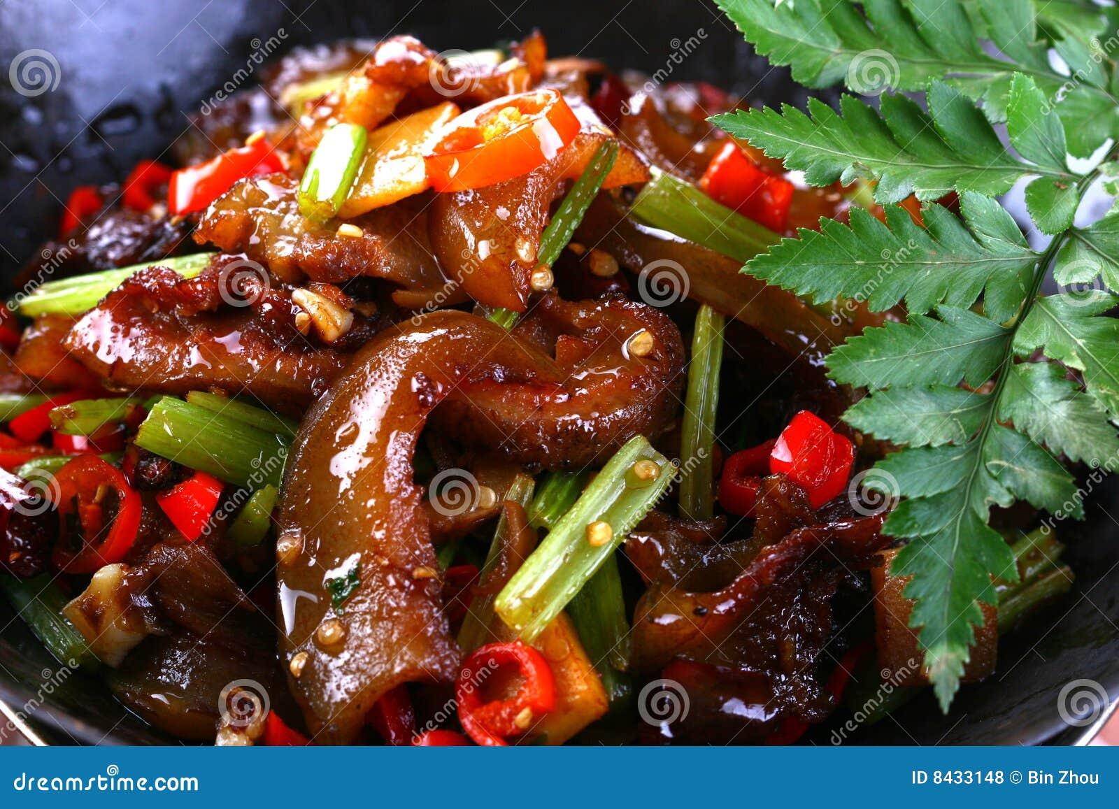 Fry asian food