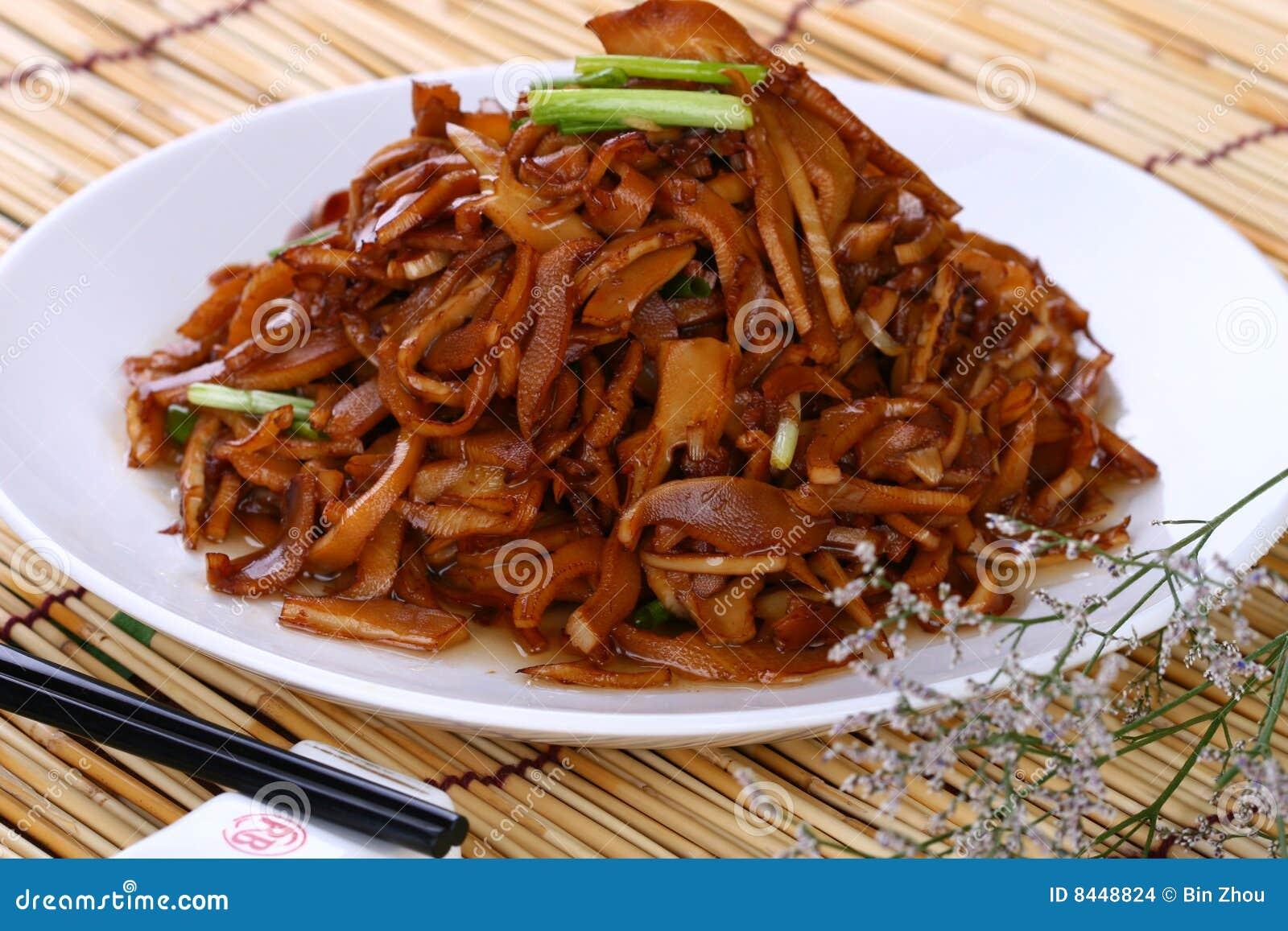 Fry asian food shrimp