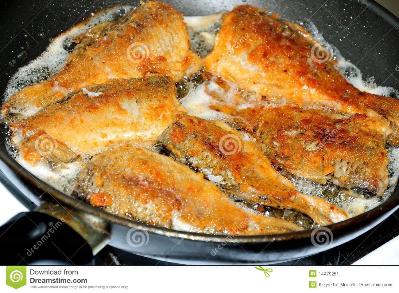 Frying fish stock image image 14479251 for Best oil for frying fish