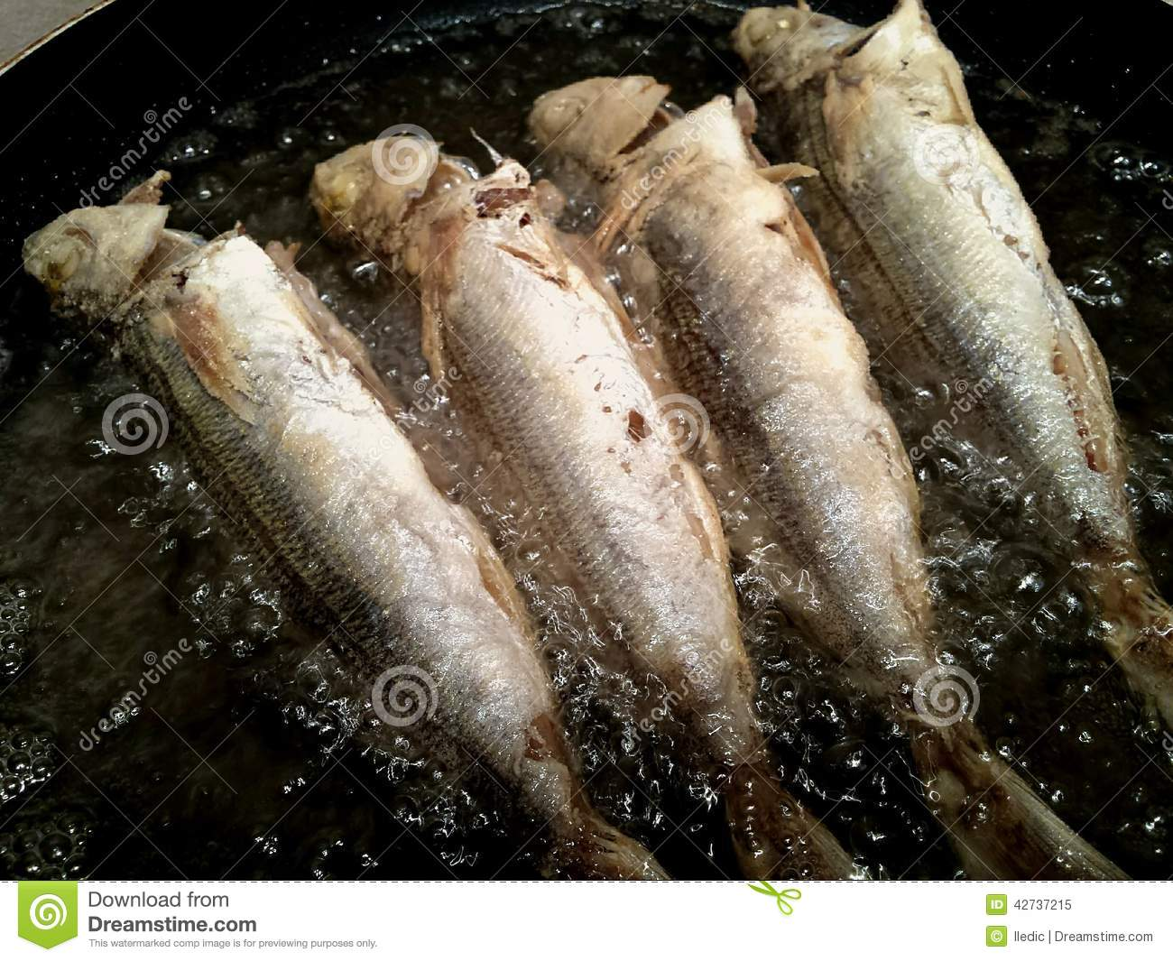 Frying fish stock photo image 42737215 for Best oil for frying fish