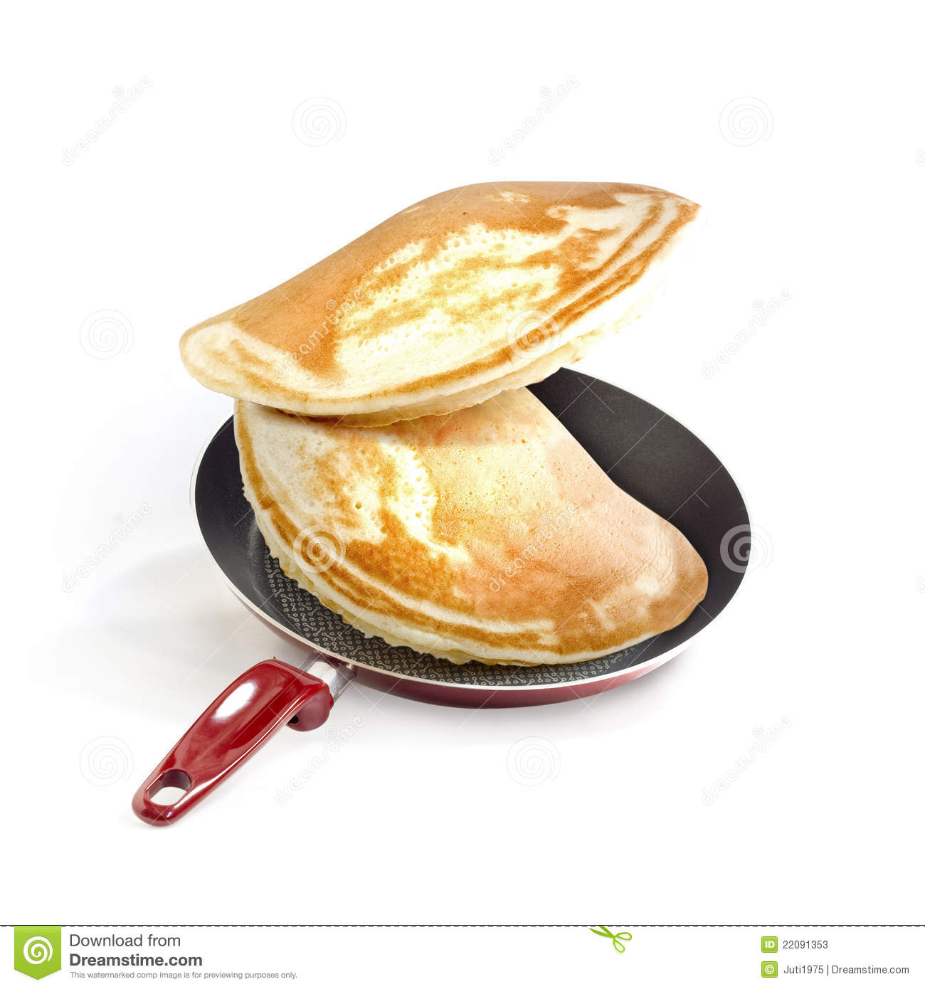frying pan and pancakes stock image image of food white. Black Bedroom Furniture Sets. Home Design Ideas