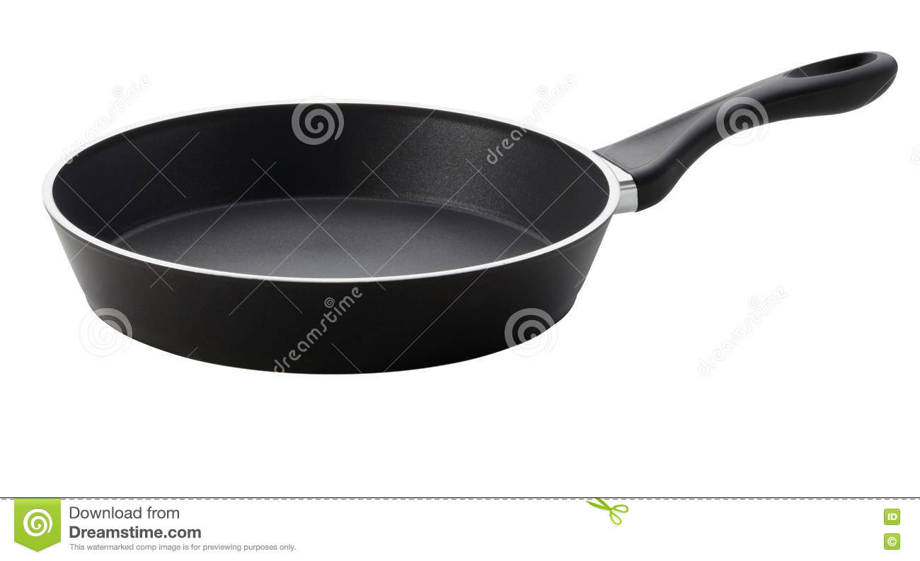 Frying pan stock photo  Image of aluminum, eating, domestic