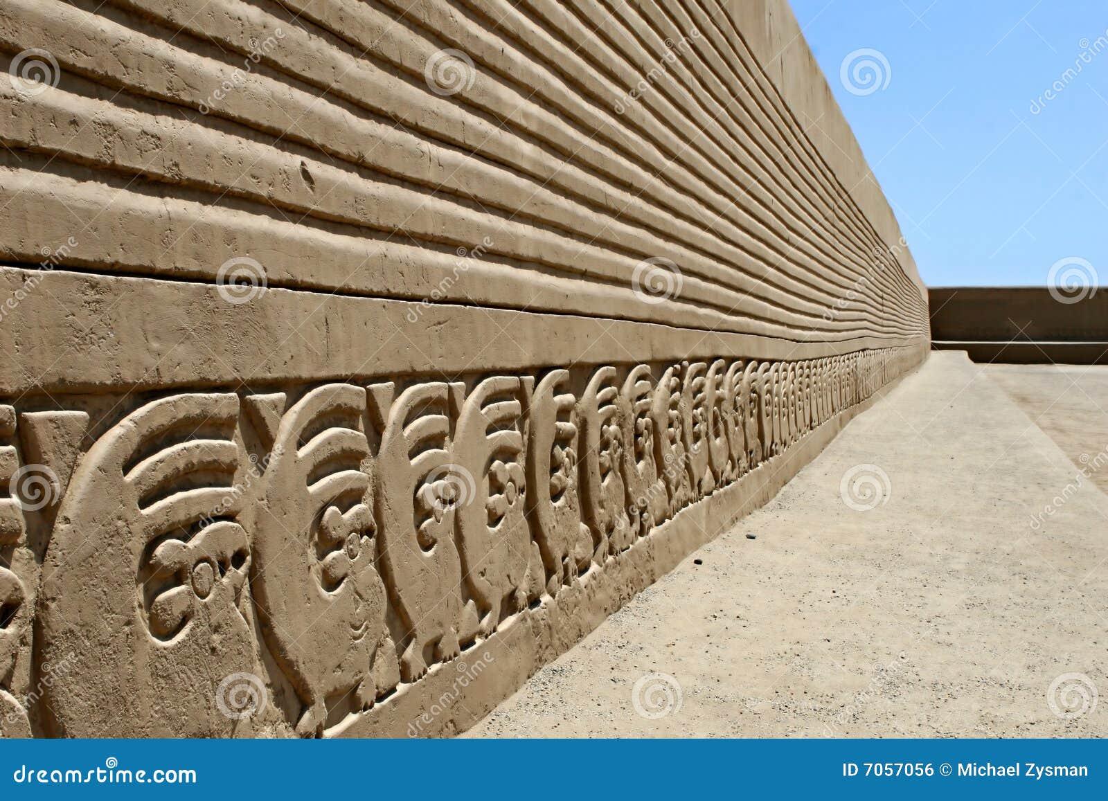 Fryz chan ściana