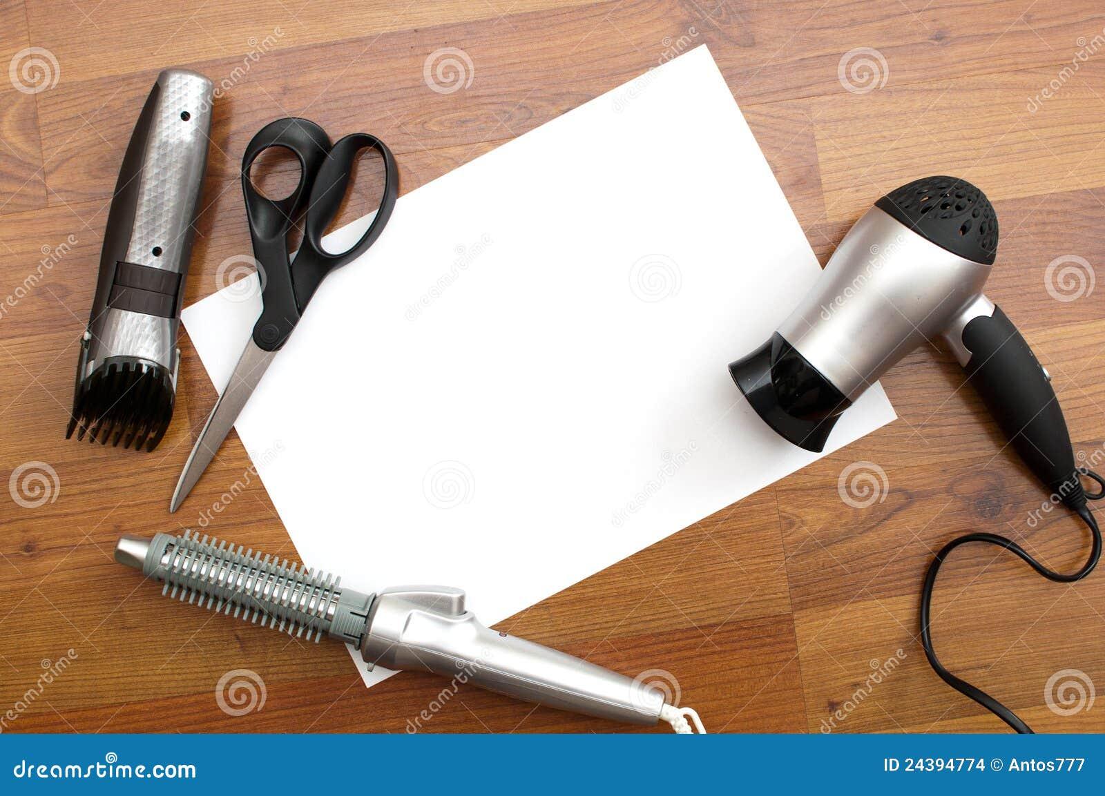 Fryzjer męski narzędzia