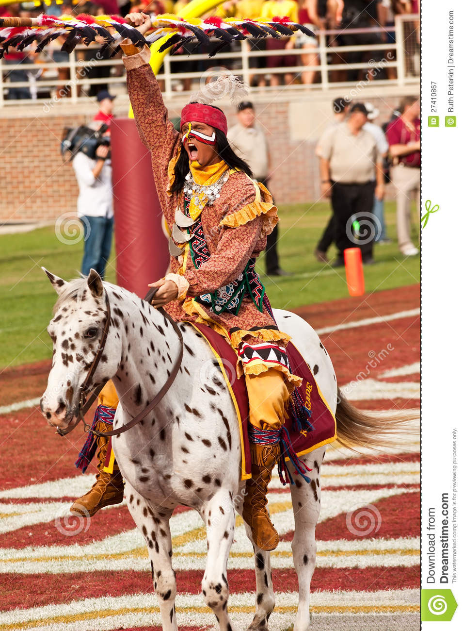 Fsu S Chief Osceola Editorial Photography Image Of