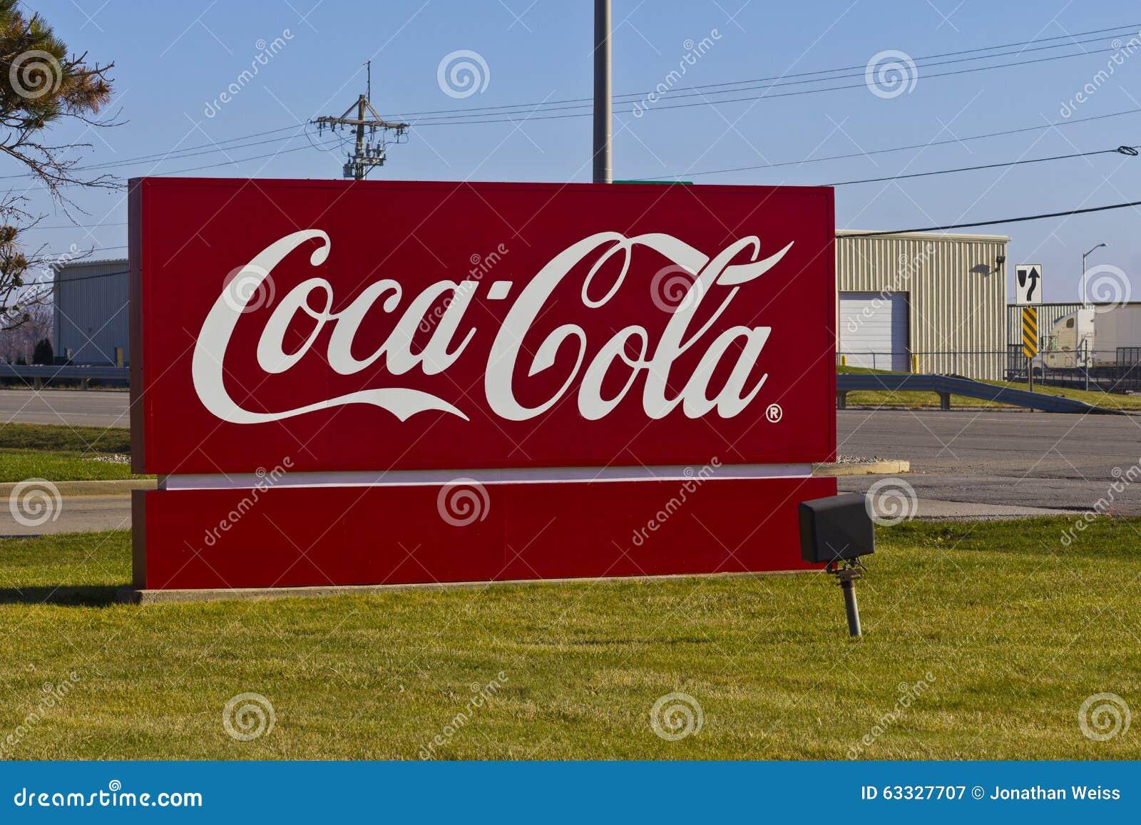 Ft 韦恩,大约2015年12月:可口可乐装瓶