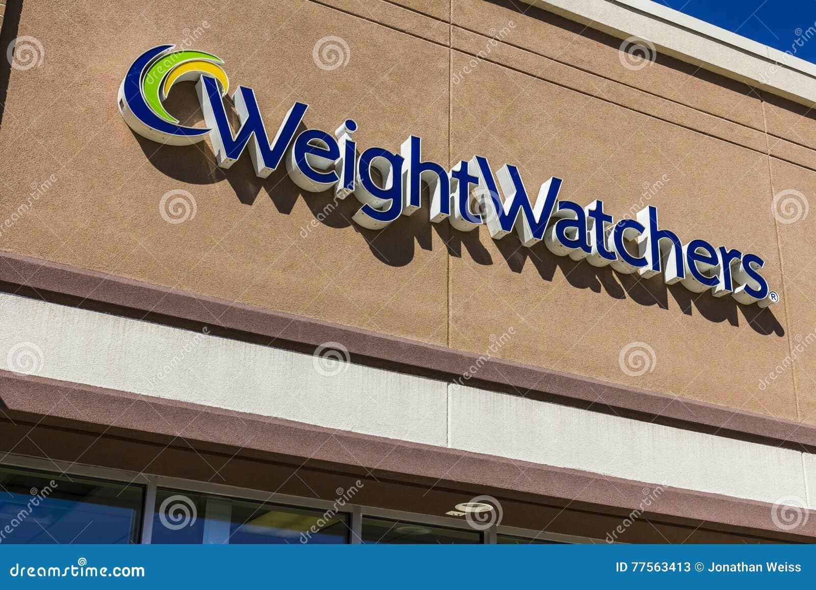 Ft Wayne - cerca do setembro de 2016: Observadores do peso que encontram o lugar Oprah Winfrey é uma acionista dos observadores d