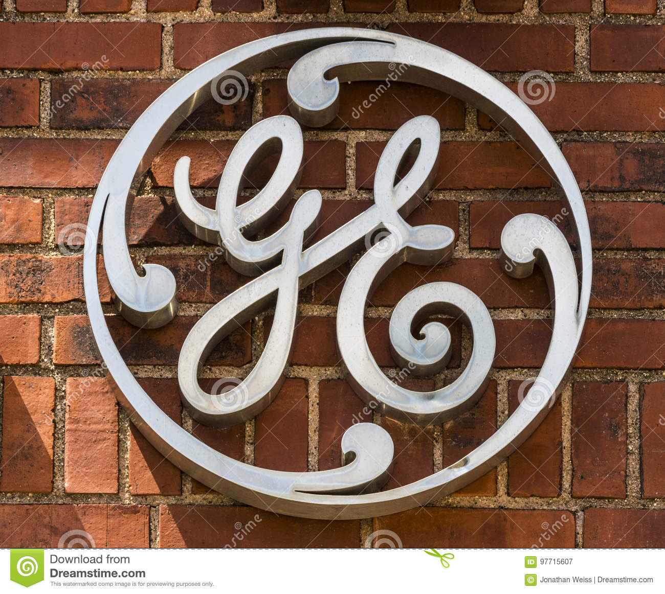 Ft  Wayne - Circa August 2017: General Electric Factory Logo  GE