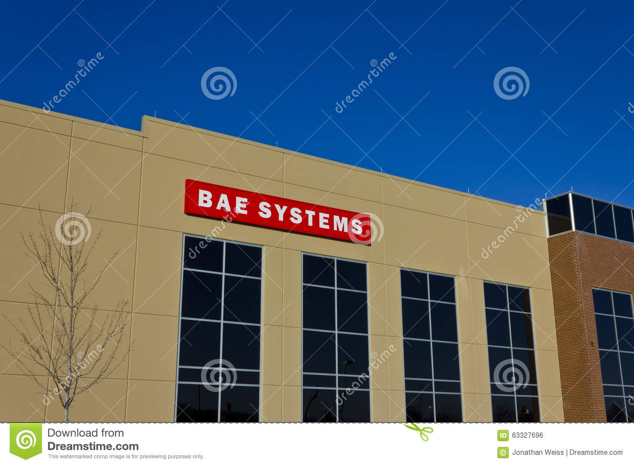 Ft Wayne, IN- circa dicembre 2015: BAE Systems Manufacturing Facility