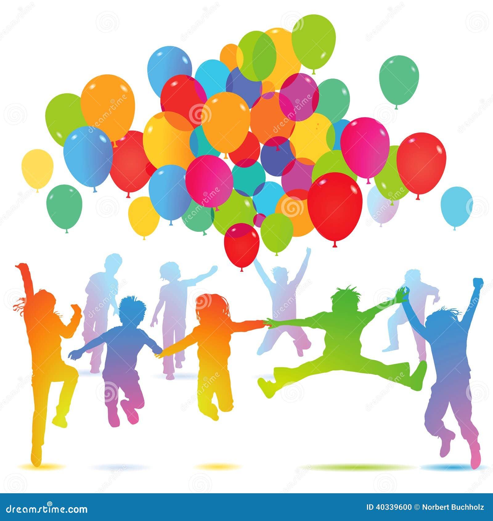 f te d 39 anniversaire des enfants avec des ballons photo. Black Bedroom Furniture Sets. Home Design Ideas