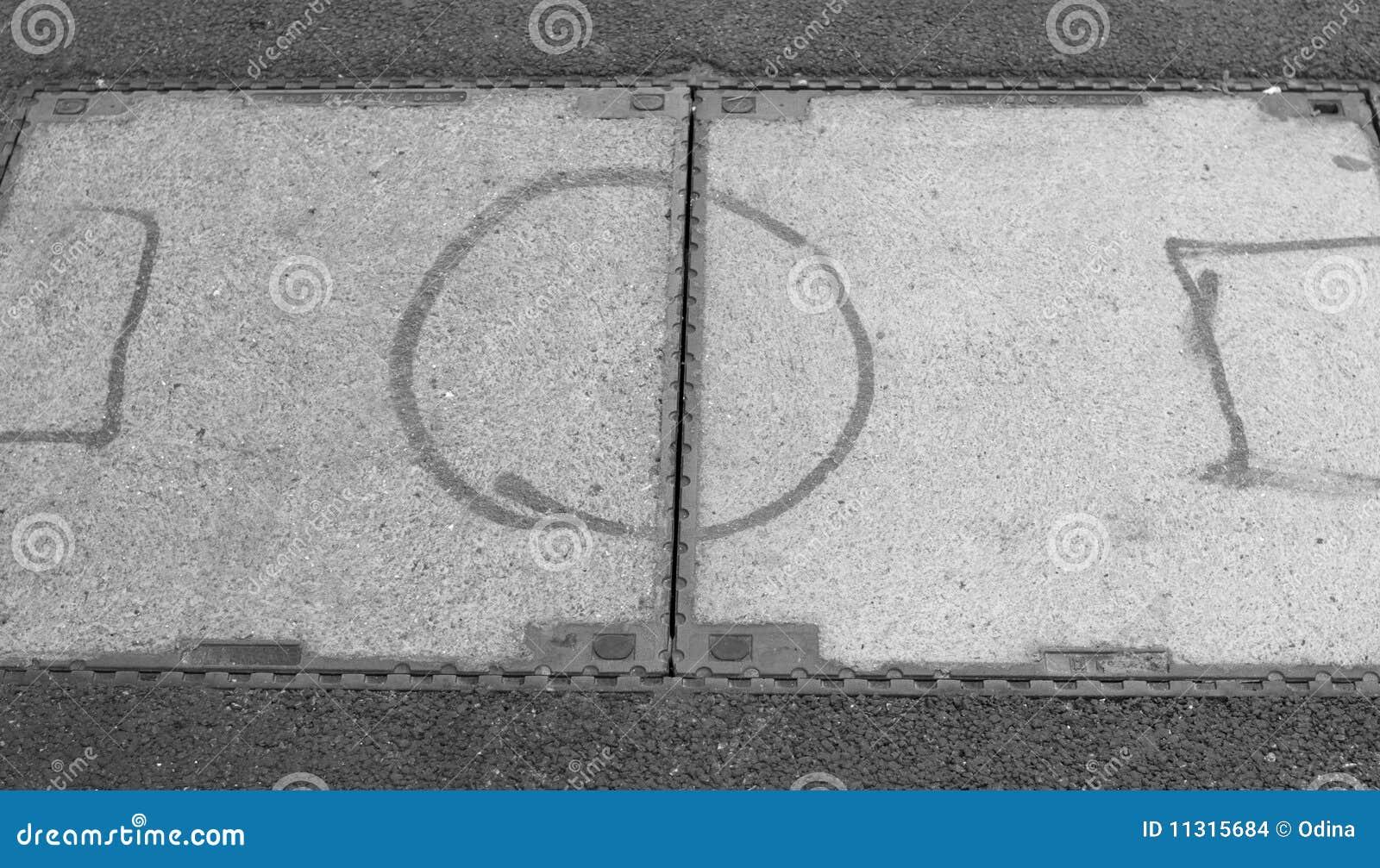 Fußball-Boden