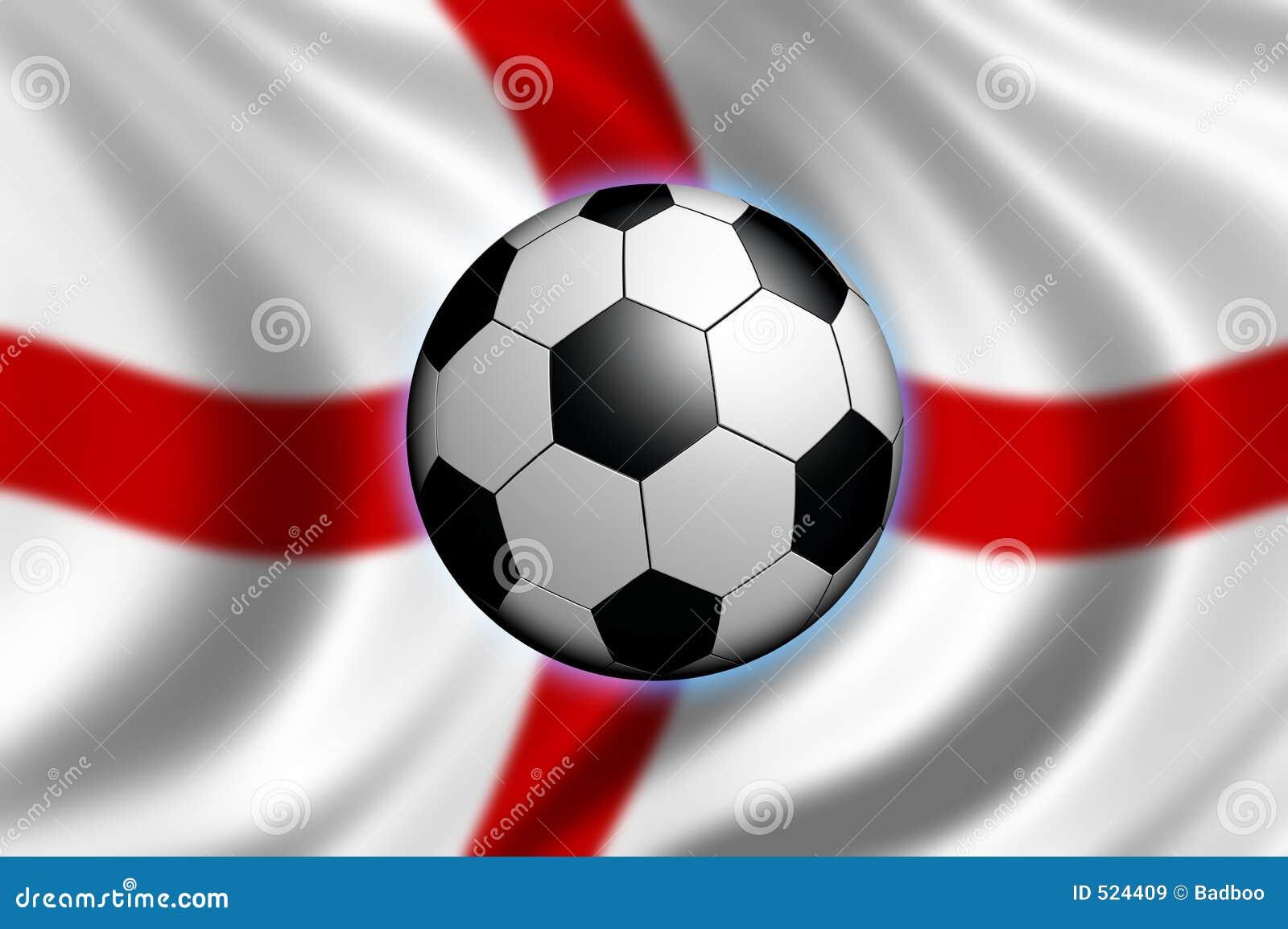 Fussball In England Stock Abbildung Illustration Von Starke