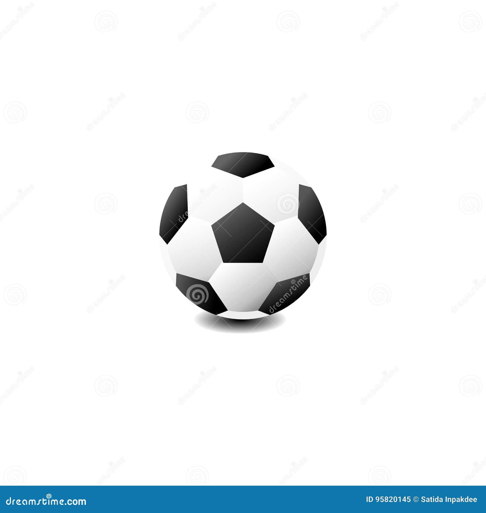 Fussball Symbol Stock Abbildung Illustration Von Nahaufnahme