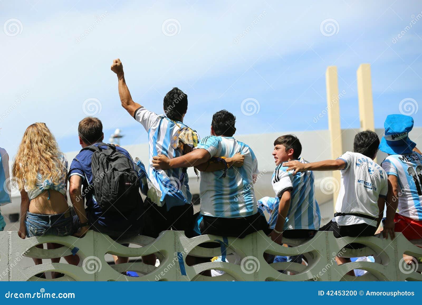 Fußball-Weltmeisterschaft 2014 Fußballfans