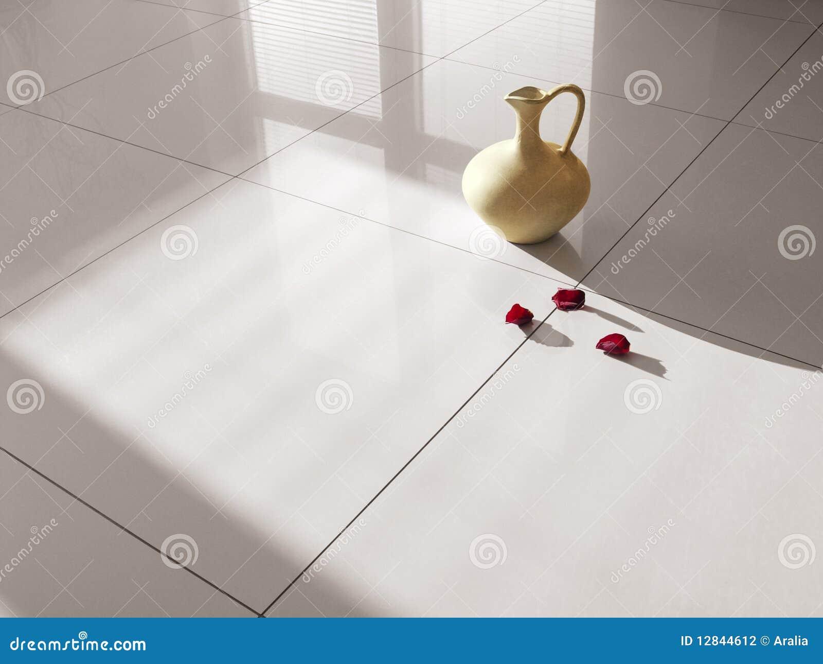 Sehr Fußbodenfliese-Porzellanfliesen Stockfoto - Bild von hart, dekor WU35