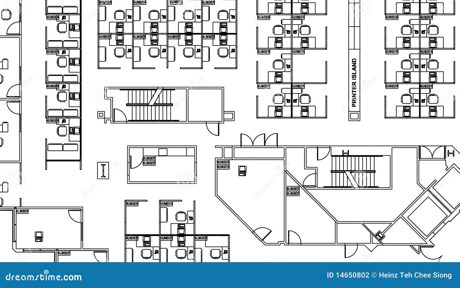 Fußbodenplan
