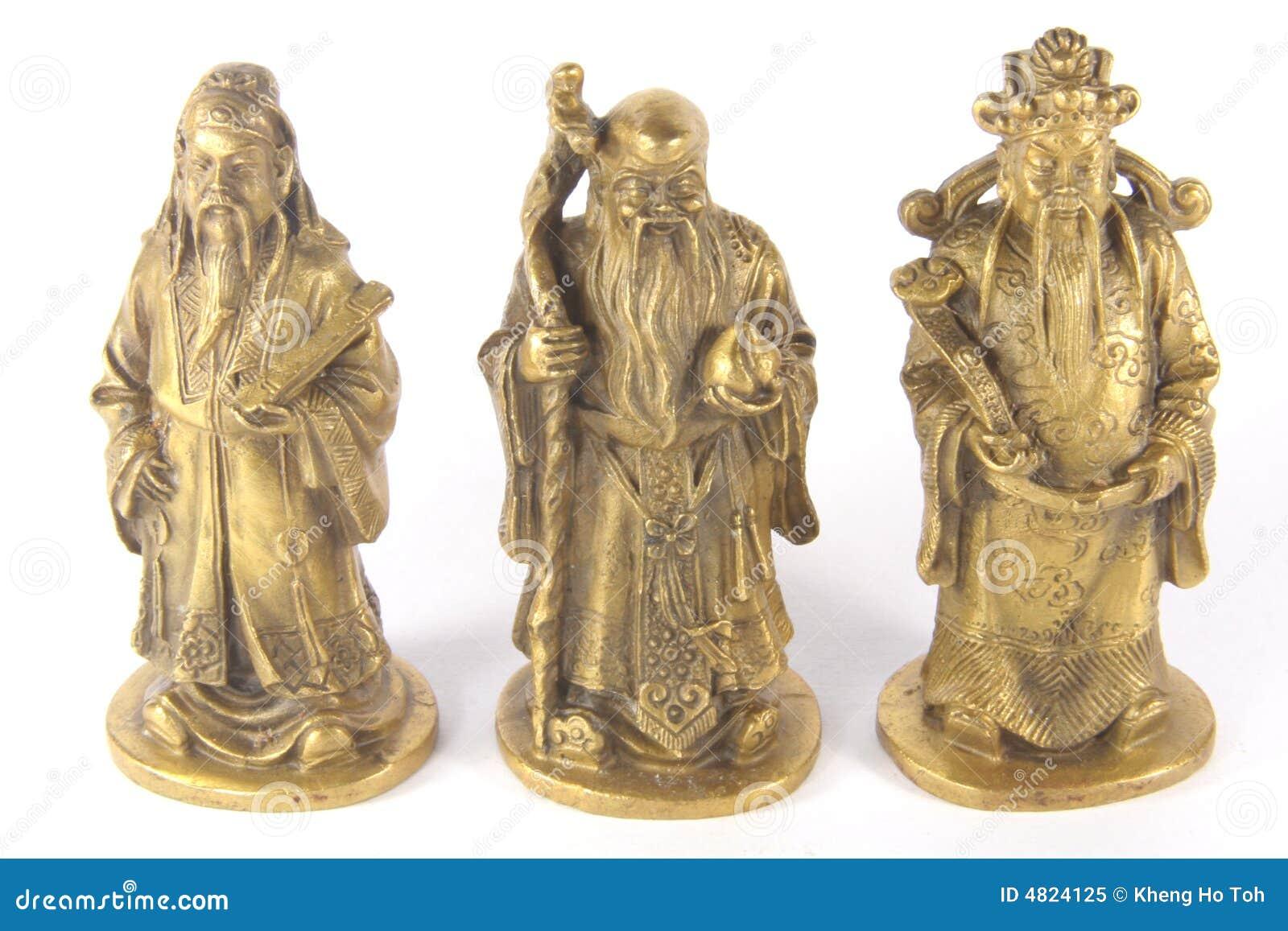 Fu Lu Shou - Chinese Auspicious Trinity Gods