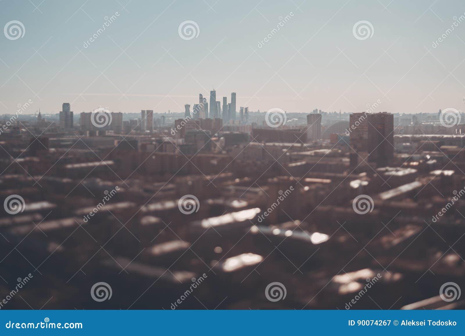 Fucilazione dello spostamento di inclinazione del paesaggio urbano da parte migliore