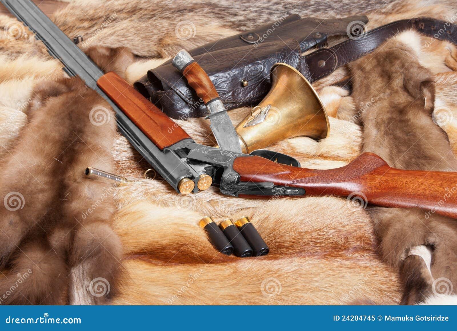 Fucile da caccia fotografia stock libera da diritti for Costo della costruzione del fucile da caccia