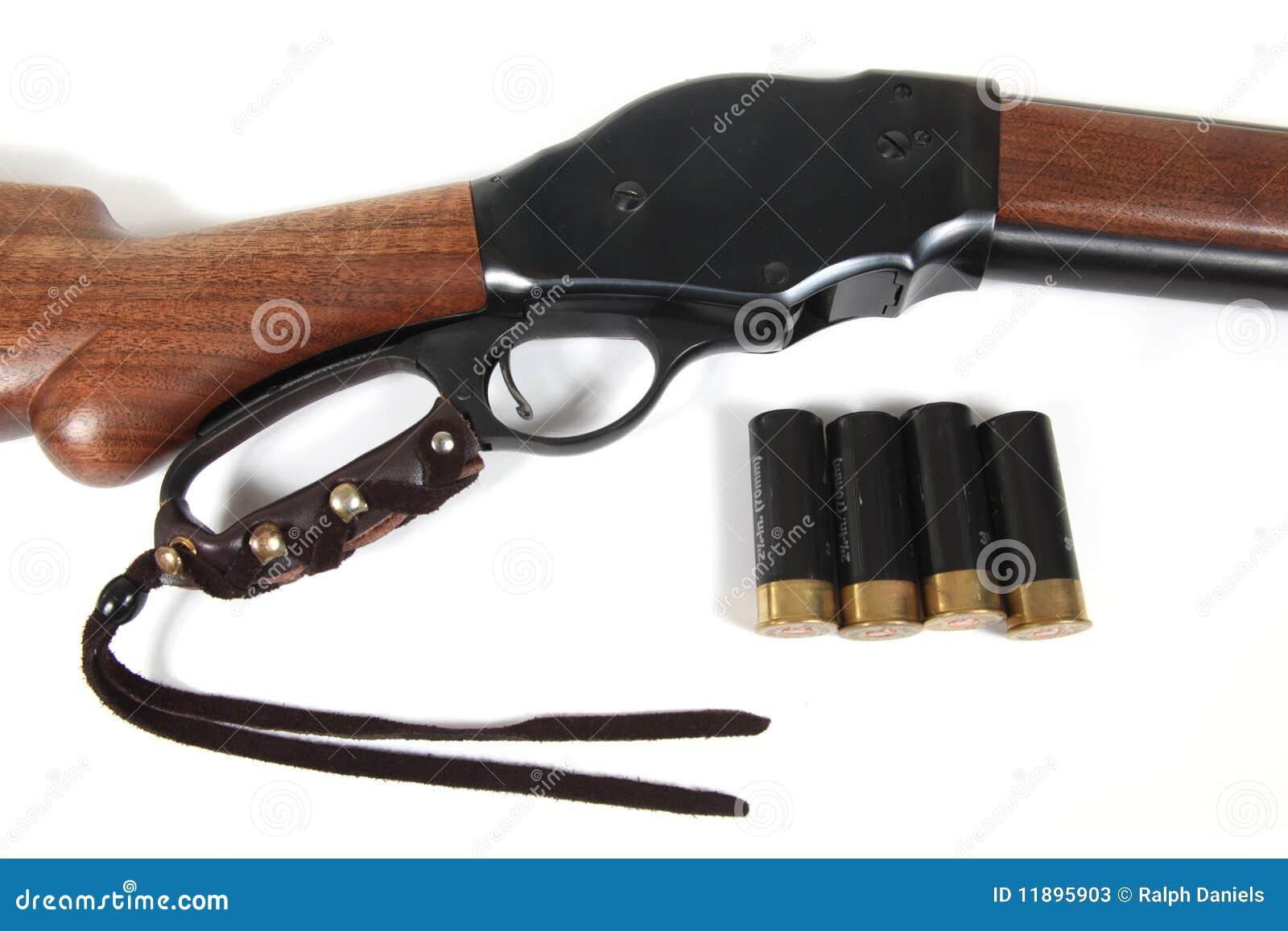Fucile da caccia di azione della leva del modello 87 e 12 for Costo della costruzione del fucile da caccia