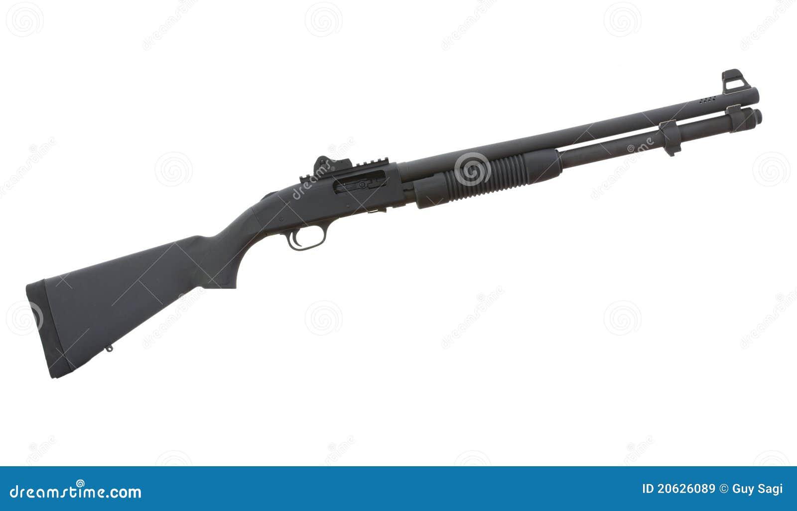 Fucile da caccia personale della difesa immagini stock for Costo della costruzione del fucile da caccia