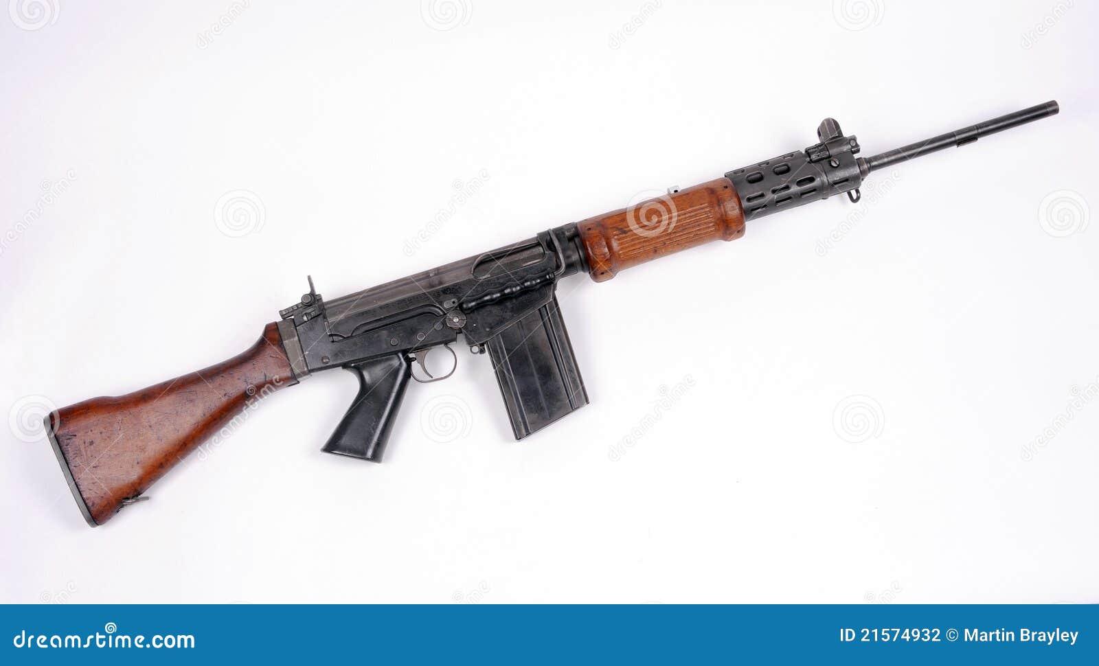 fucile di assalto israeliano f n fal fotografia stock AR-15 Assault Rifle Vector Assault Rifle Halo