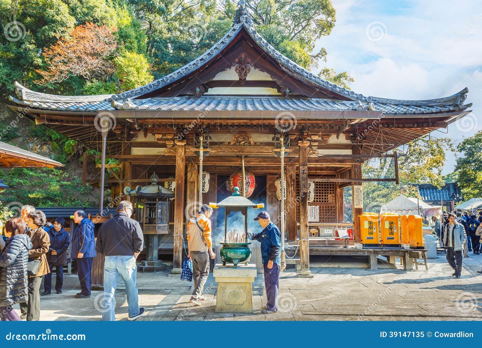 Fudo Hall At Kinkaku-ji Complex In Kyoto Editorial Image