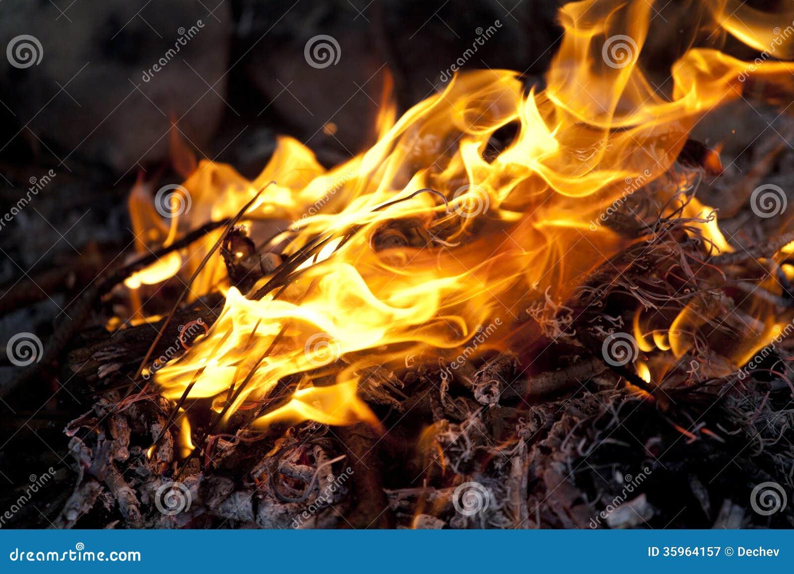 Fuego chispeante