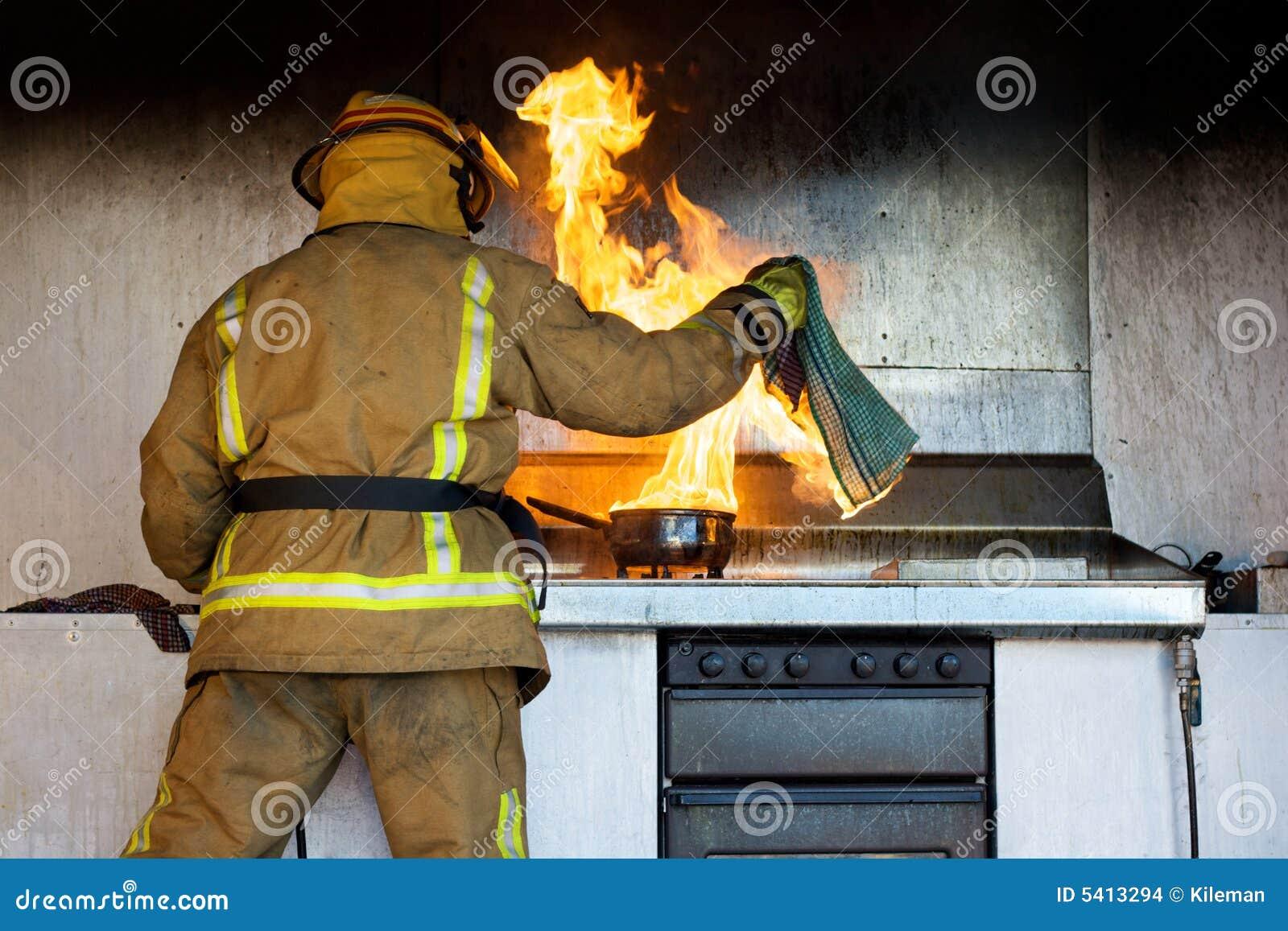 Fuego de la cocina imagenes de archivo imagen 5413294 - Cocina de fuego ...
