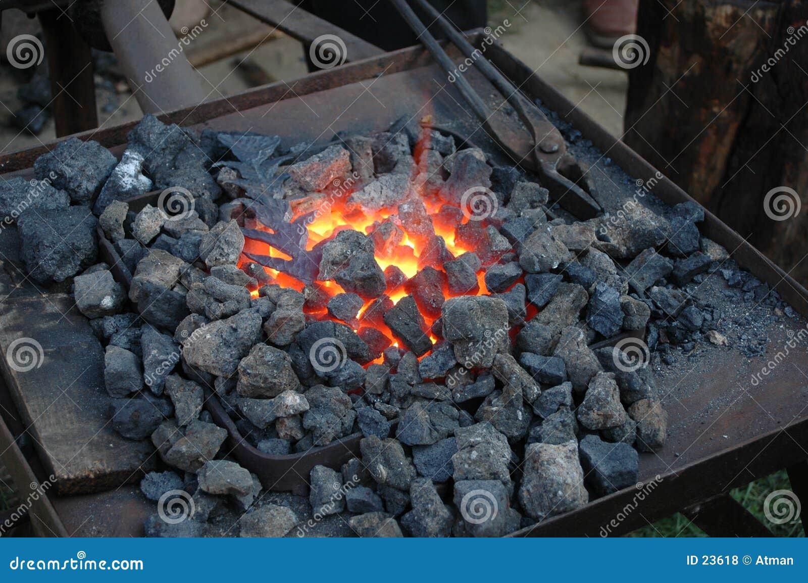 Fuego de la fragua
