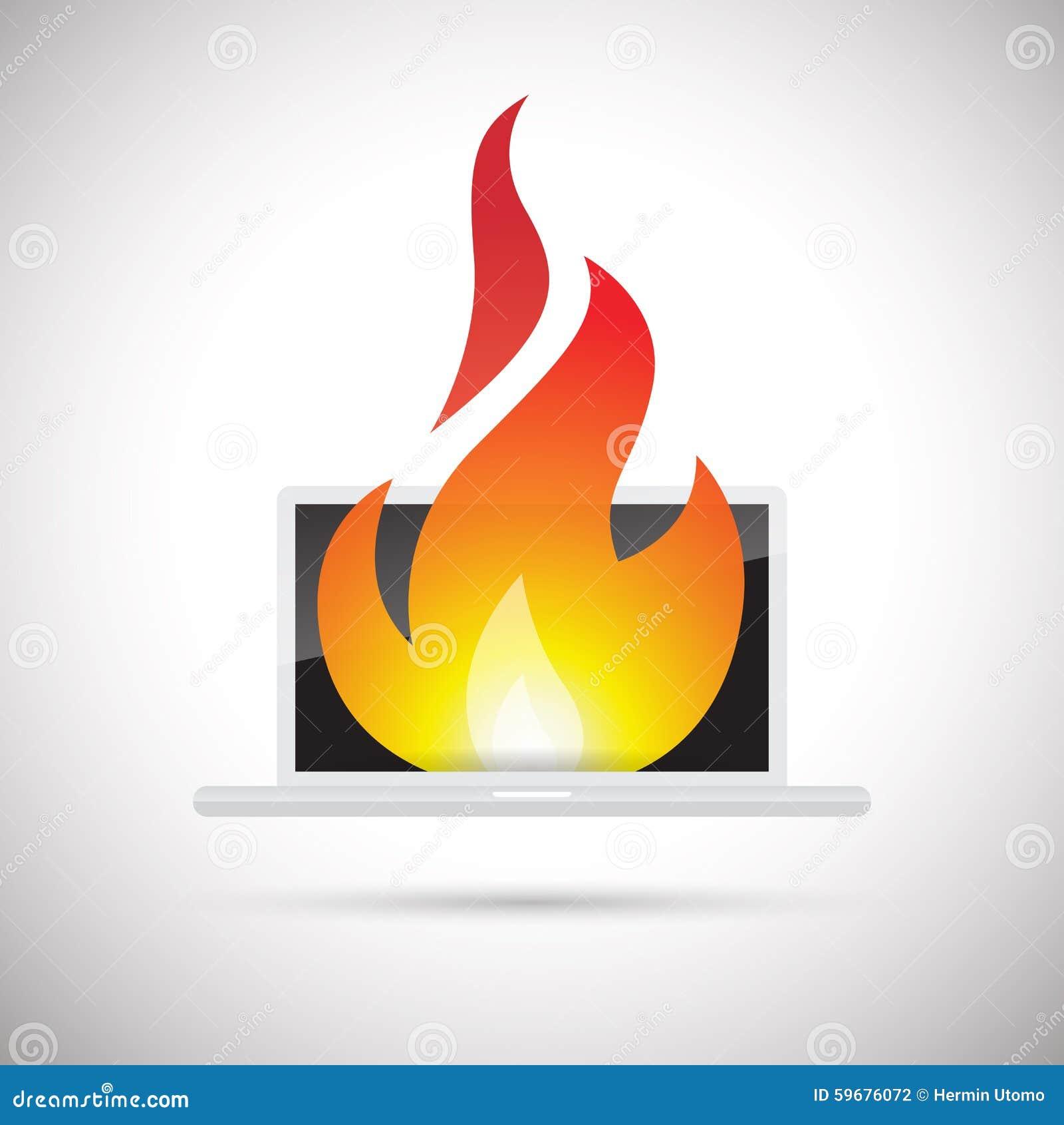 Fuego del ordenador