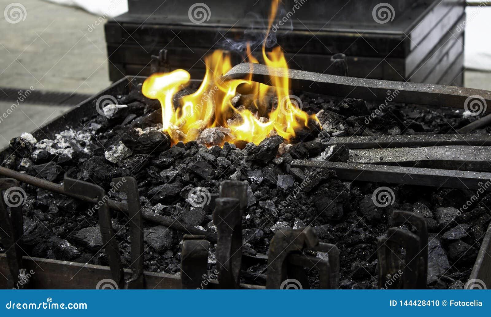 Fuego en la fragua