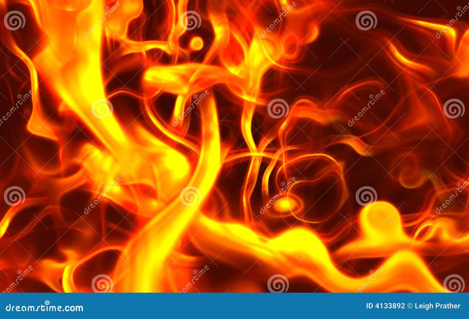 Fuego originado en ordenador