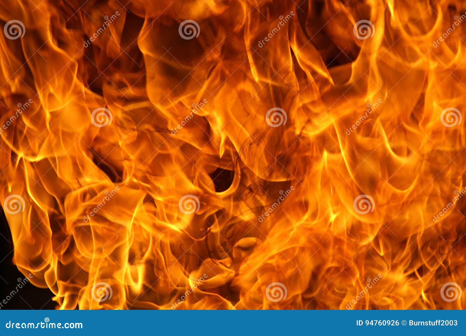 Fuego plano