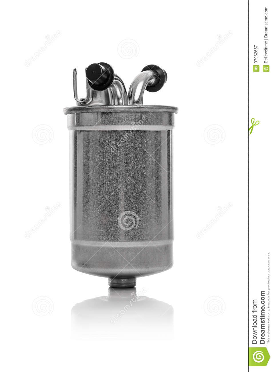 Fuel Filter Diesel Car Isolated Stock Image Of Auto Care Download