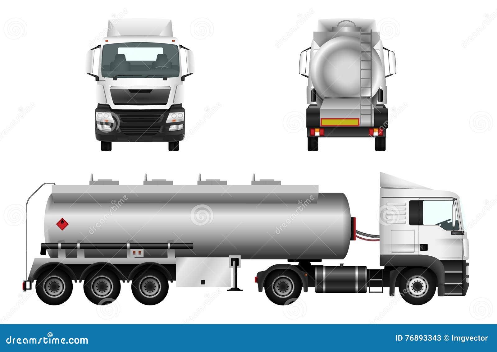 fuel gas tanker truck stock image image of petroleum 76893343. Black Bedroom Furniture Sets. Home Design Ideas