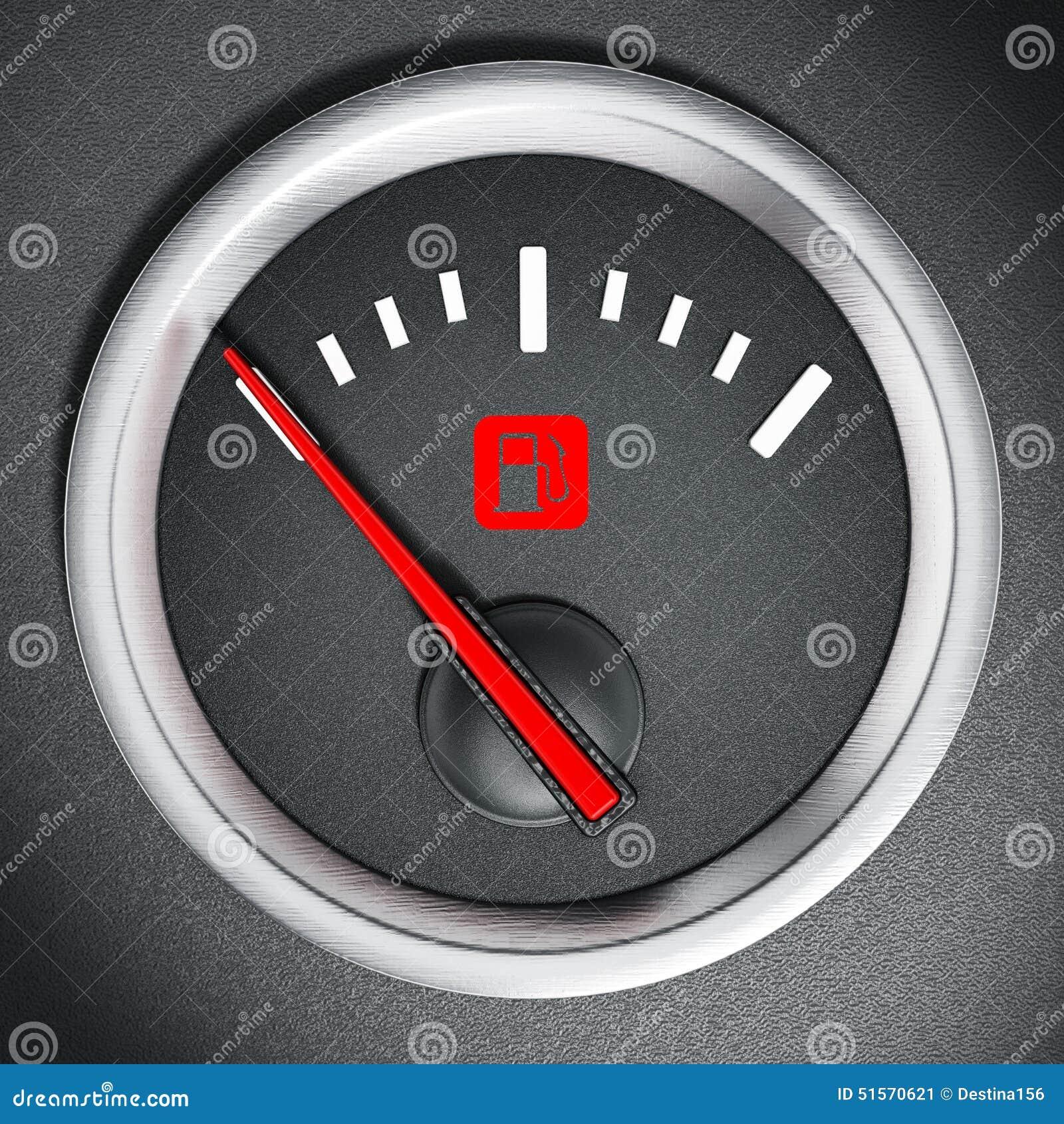 Fuel gauge stock illustration  Illustration of business - 51570621