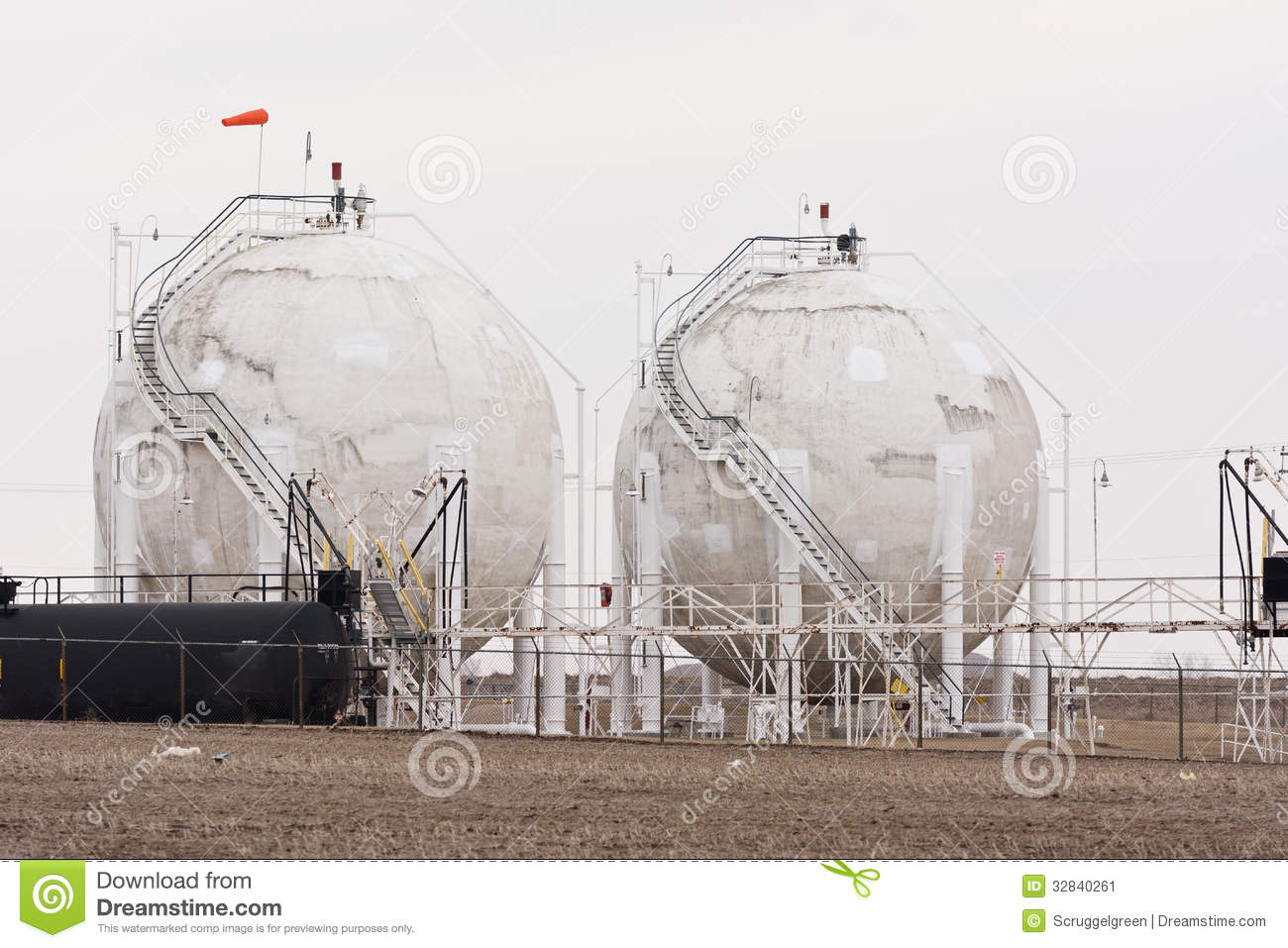 Tower Fuel Rule : Fuel towers stock image