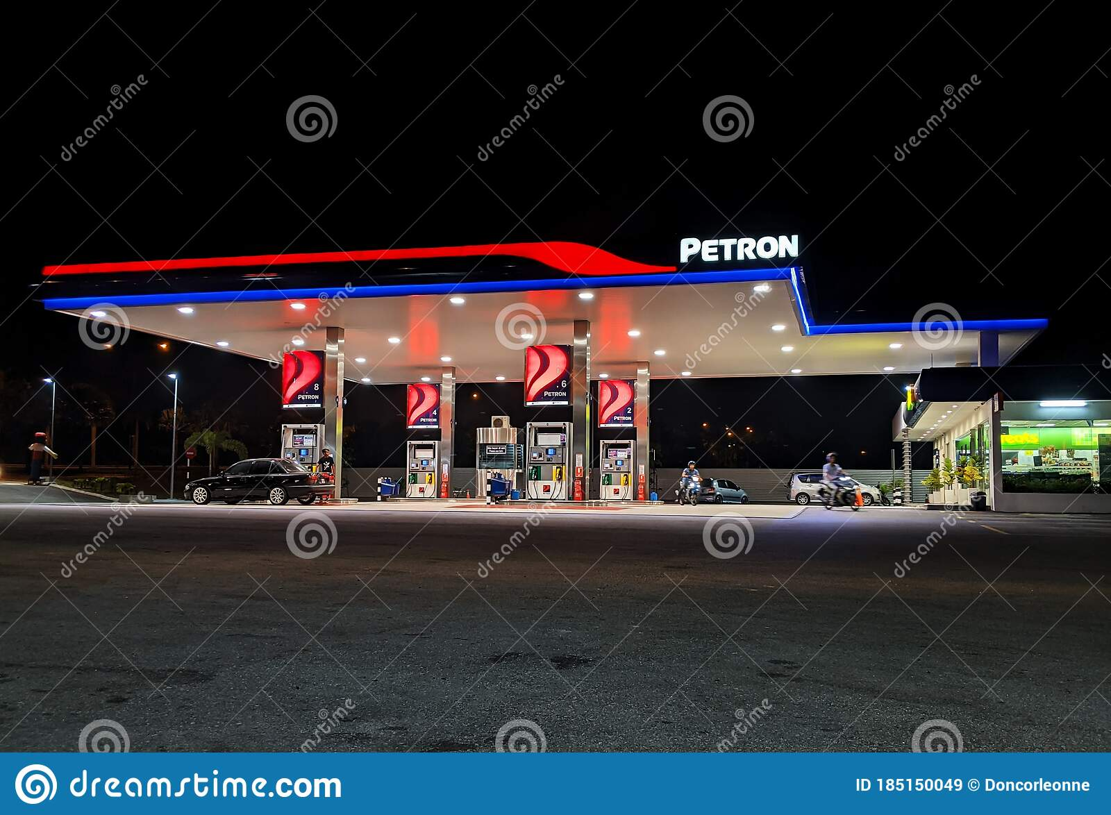 Fuel Up Your Car Editorial Stock Image Image Of Vehicle 185150049